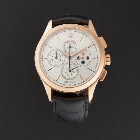 Montblanc Heritage Annual Calendar Chrono Automatic // 114876 // Store Display