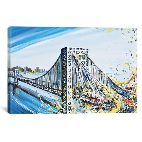 """GW Bridge // Piero Manrique (18""""W x 26""""H x 0.75""""D)"""