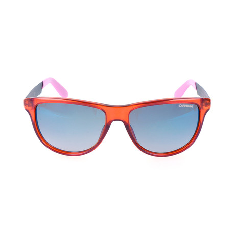 Carrera 5015/S Sunglasses // Orange + Blue