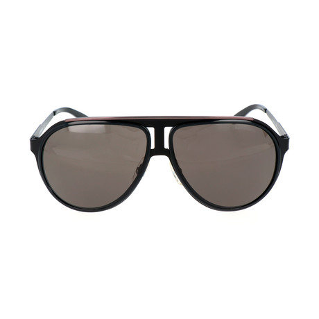 Carrera 100 Sunglasses // Black + Gray