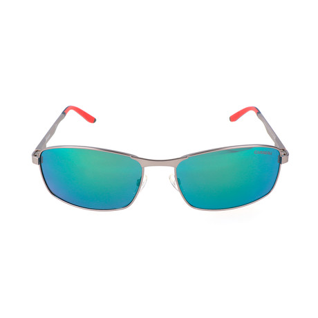 Carrera 8012/S Sunglasses // Grey + Blue