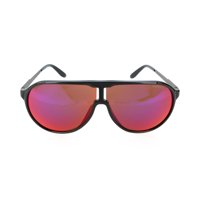 34f93a1dbbac 5f882efa2486220cc4ea059e615d642e medium · New Champion/F Sunglasses // Black  + Red