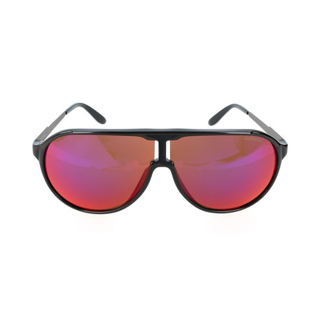 New Champion/F Sunglasses // Black + Red