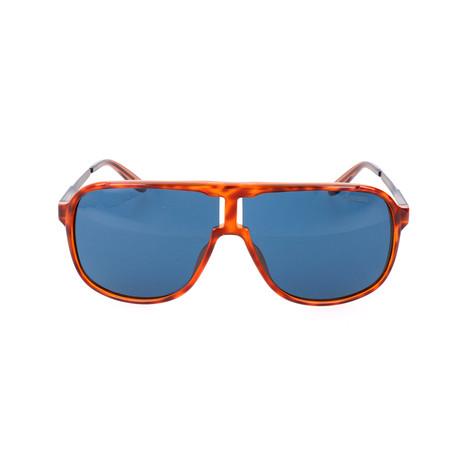 New Safari Sunglasses // Havana Brown + Blue