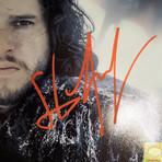 Daenerys + Jon Snow // Emilia Clarke + Kit Harington Signed // Custom Frame