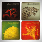 Coasters // Set Of 4 // Collector's Set
