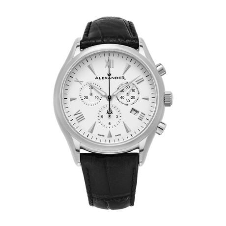 Alexander Watch Pella Chronograph Quartz // A021-02