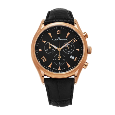 Alexander Watch Pella Chronograph Quartz // A021-03