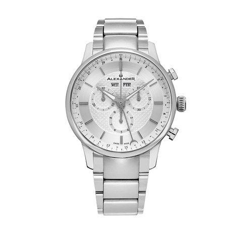 Alexander Watch Chieftain Chronograph Quartz // A101B-01