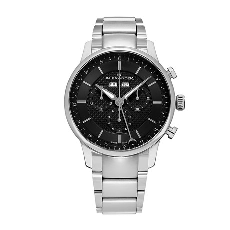 Alexander Watch Chieftain Chronograph Quartz // A101B-02