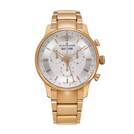 Alexander Watch Chieftain Chronograph Quartz // A101B-04