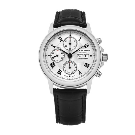 Alexander Watch Statesman Chronograph Automatic // A473-02
