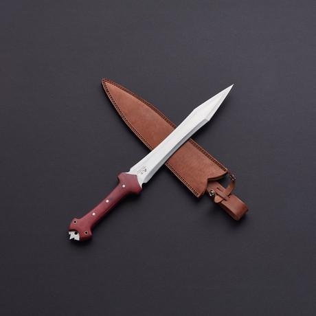 D2 Roman Gladiator Battle-Ready Short Sword