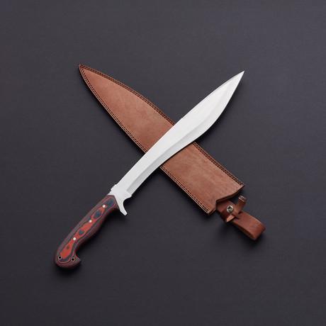D2 Kopis Bolo Battle-Ready Combat Sword