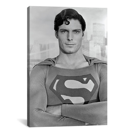 "Christopher Reeve As Superman I (26""W x 18""H x 0.75""D)"