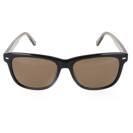 EZ0028-FN Sunglasses // Black + Brown