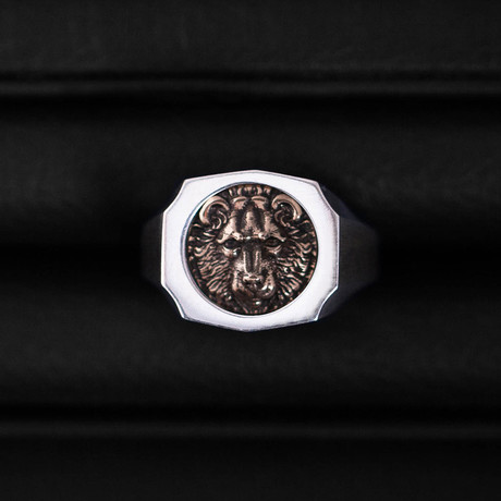 Trophy Ring // Bear // Gold (Size 54)