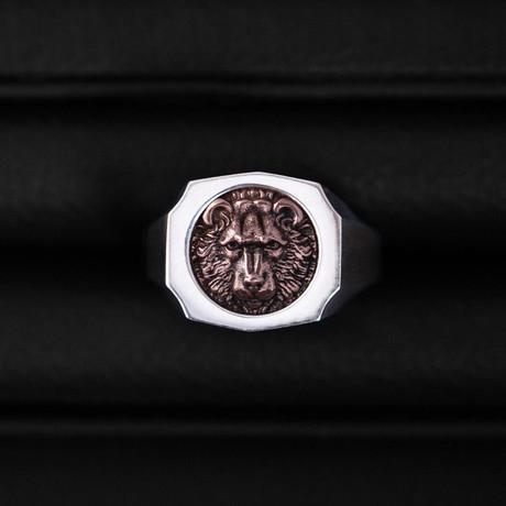 Trophy Ring // Bear // Rose Gold (Size 54)