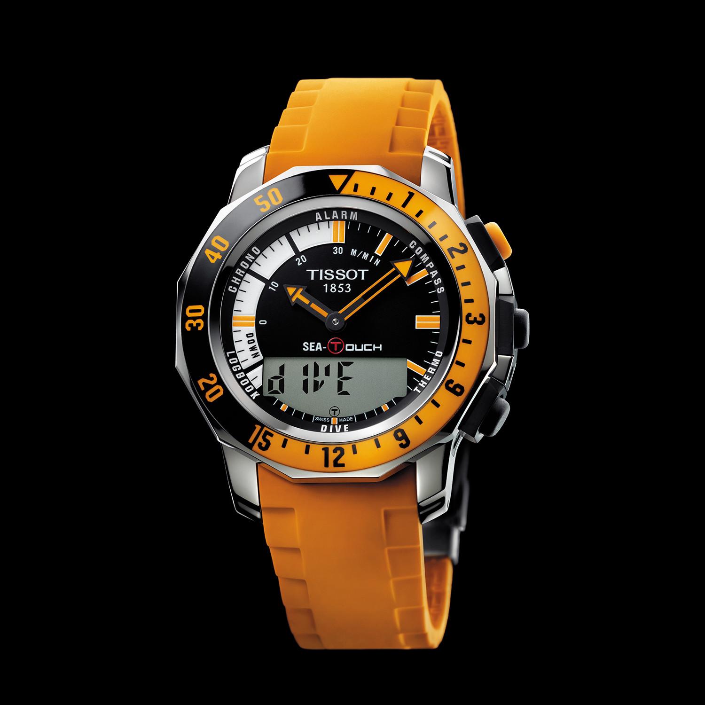 tissot sea touch gts quartz t026 420 17 281 02 tissot touch rh touchofmodern com Tissot Sea Touch Watch Tissot Diver