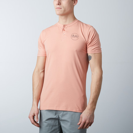 The Henley Tee // Peach (S)