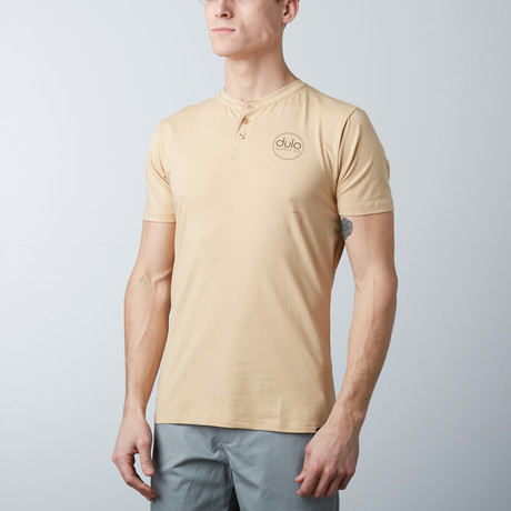 The Henley Tee // Tan (S)