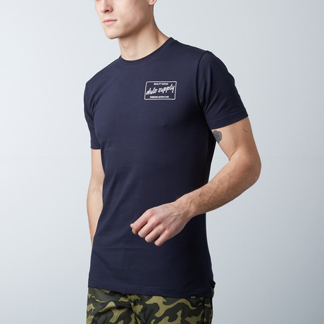 The Hudson Tee // Navy Blue (S)