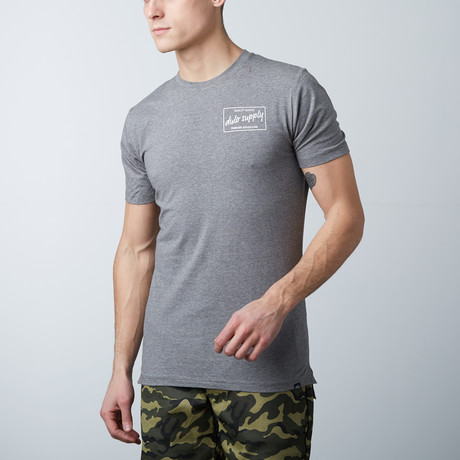 The Hudson Tee // Heather Gray (S)