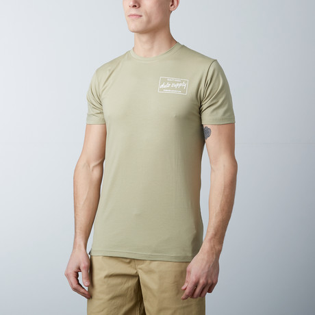 The Hudson Tee // Olive (S)
