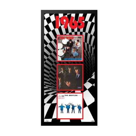 I965 Commemorative Music Framed Piece // I