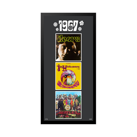 1967 Commemorative Music Framed Piece // II
