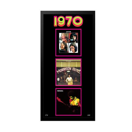 1970 Commemorative Music Framed Piece // II