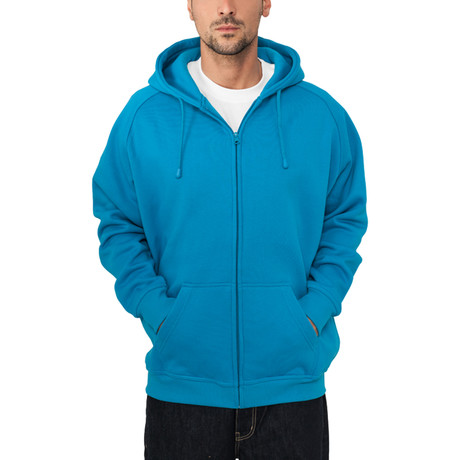 Zip Hoody // Turquoise (S)