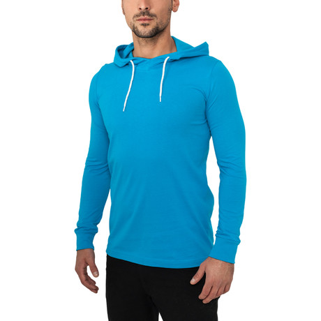 Jersey Hoody // Turquoise (S)