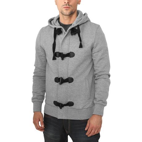Duffle Zip Hoody // Grey (S)
