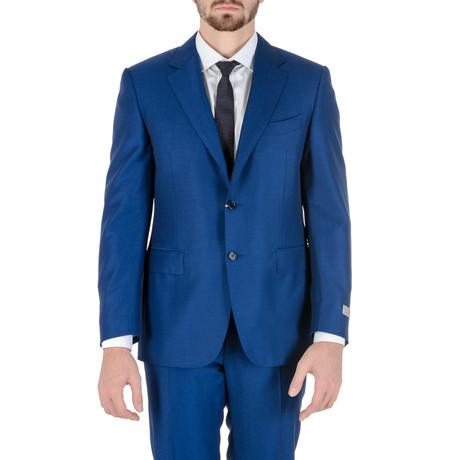 Leveque Pique Suit // Blue (Euro: 50)