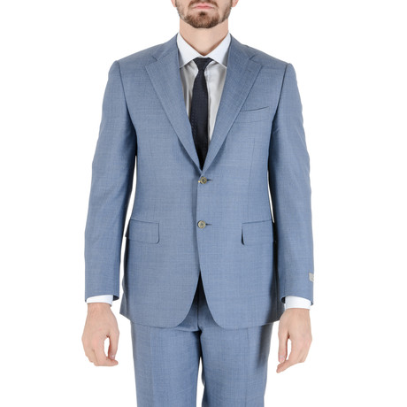 Koy Canali Suit // Light Blue (Euro: 50)