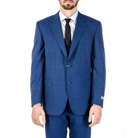 Irving Striped Suit // Blue (Euro: 54)