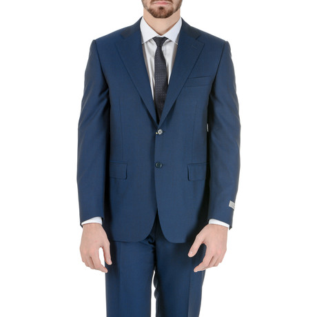 Gibson Striped Suit // Blue (Euro: 50)