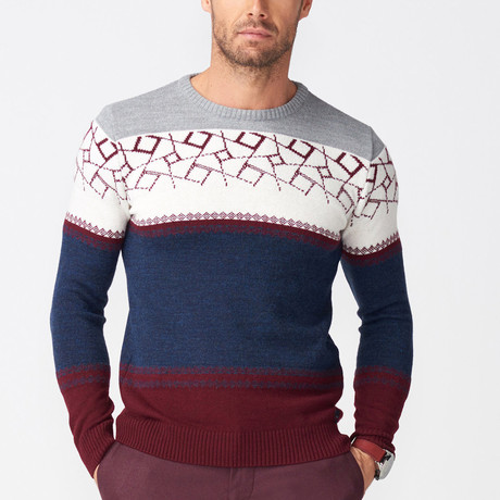 Liam Jumper // Claret Red (S)