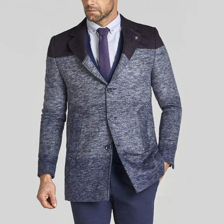 Clement Coat // Dark Blue (Euro: 44)