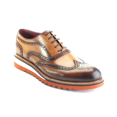 Jasper Dress Shoes // Antique Tobacco (Euro: 39)
