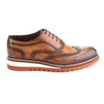 Jasper Dress Shoes // Antique Tobacco (Euro: 41)
