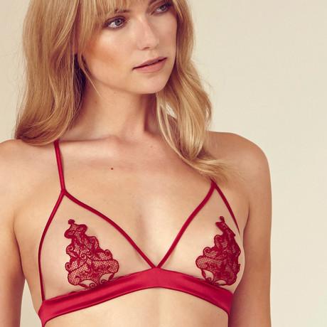 Dare Boudoir Bra // Red (XS)