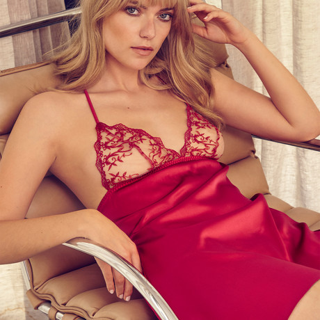 Dare Babydoll // Red (XS)