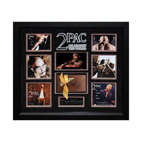 Autographed Dominoes // Tupac Shakur