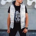 Yeltsin Vest // Black & White (XS)