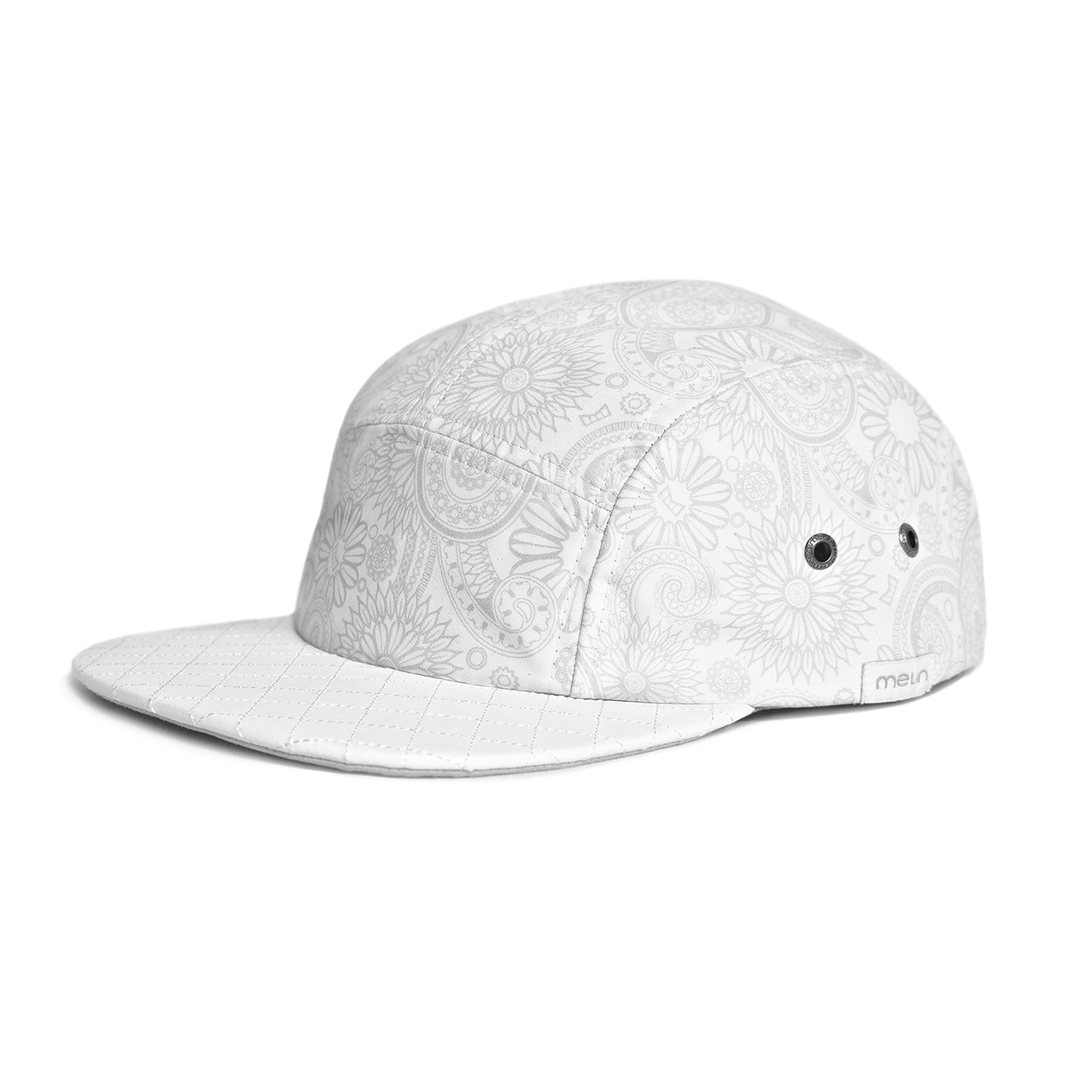 The Intrigue 5-Panel Hat    White - Melin Brand - Touch of Modern 2d2114cedb17