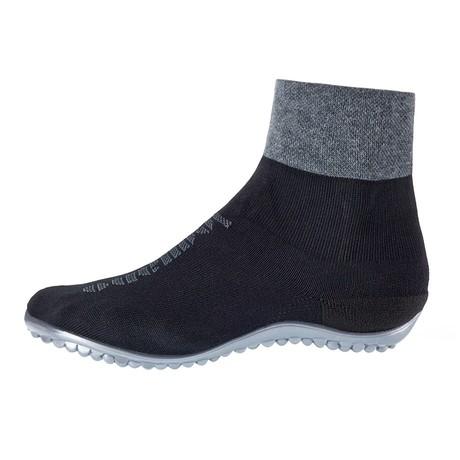 Premium Barefoot Shoe // Black + Gray (Size XS // 4.5-5.5)