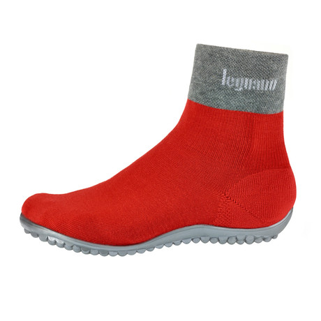 Premium Barefoot Shoe // Red (Size XS // 4.5-5)