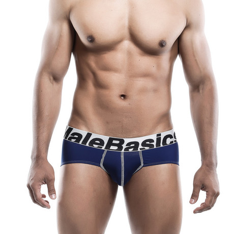 Microfiber Brief // Navy (S)